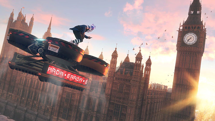 Видеорассказ Ubisoft о Watch Dogs: Legion на Xbox Series X
