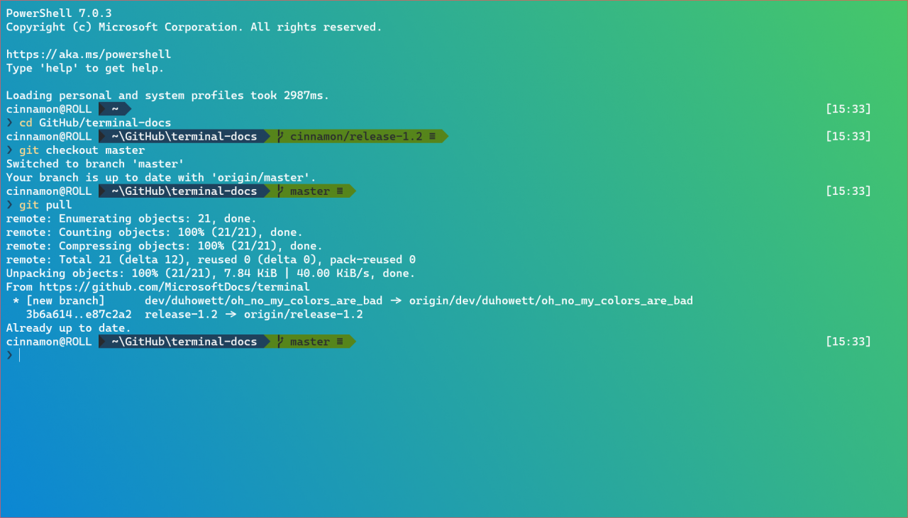 Microsoft выпустила Windows Terminal Preview 1.2