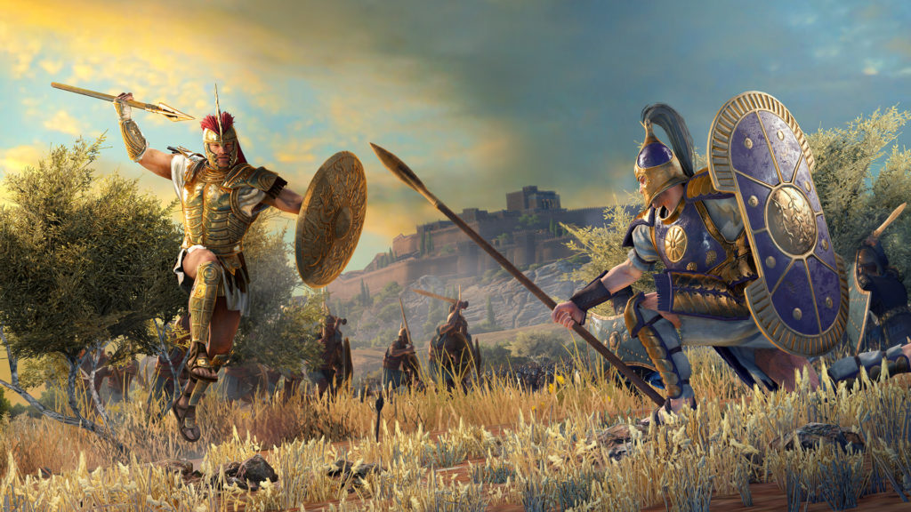 За час Total War Saga: Troy скачали с Epic Games Store 1 млн раз